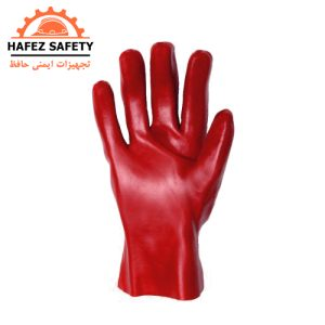 دستکش ایمنی PVC ضد اسید