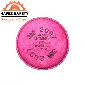 فیلتر تنفسی گرد و غبار اکتیوکربن 3M مدل 2097