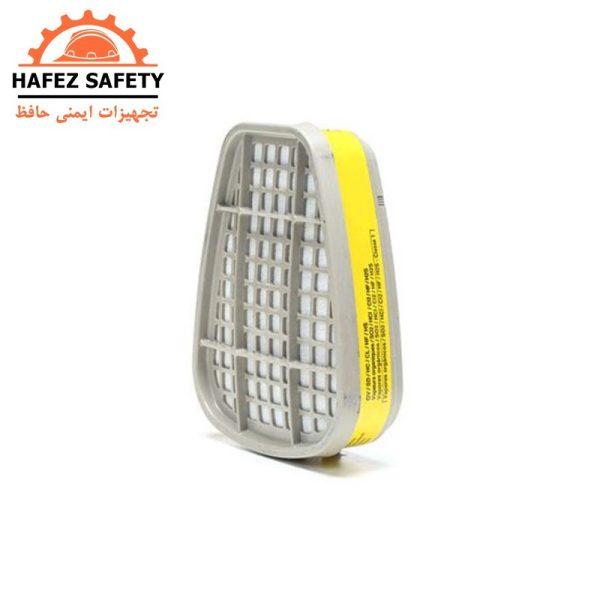 کارتریج (فیلتر) ماسک شیمیایی نوار زرد برند 3M سری 6003