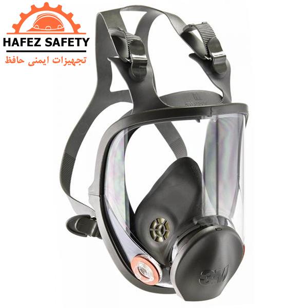ماسک تنفسی شیمیایی فیلتر دار تمام صورت 3M مدل 6800