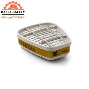 فیلتر مولتی گاز (نوار زیتونی) شرکت 3M سری 6006
