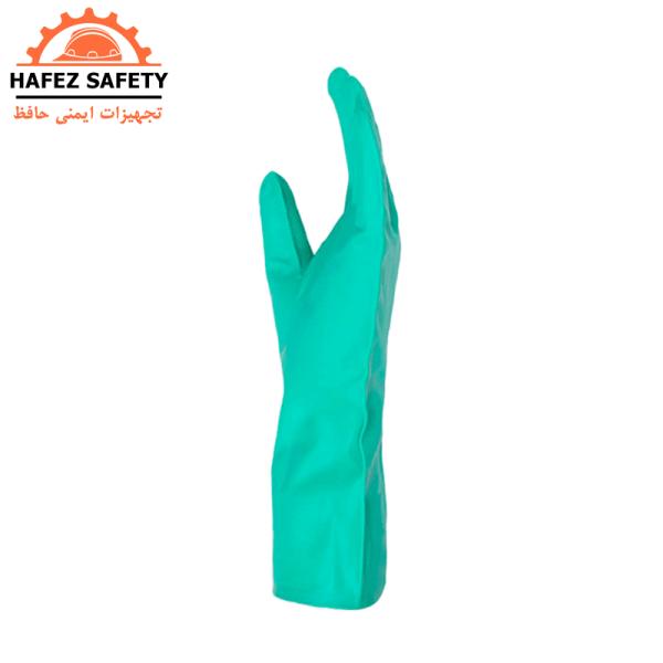 دستکش نیتریل (ضدحلال) ماپا ساق بلند مدل ۴۹۱