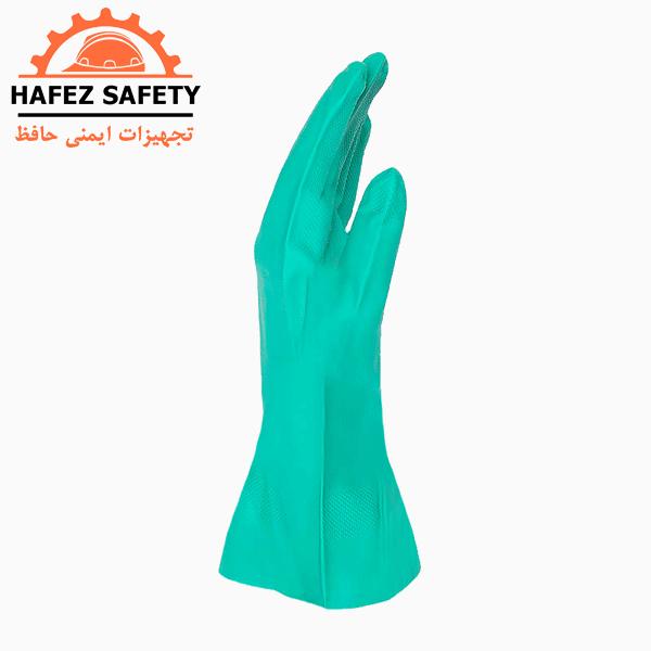 دستکش نیتریل ماپا ساق کوتاه مدل ۴۸۵